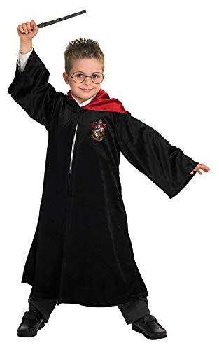 Rubie's 640872 1112 Offizielles Harry Potter Gryffindor Deluxe Bademantel Kinder Kostüm