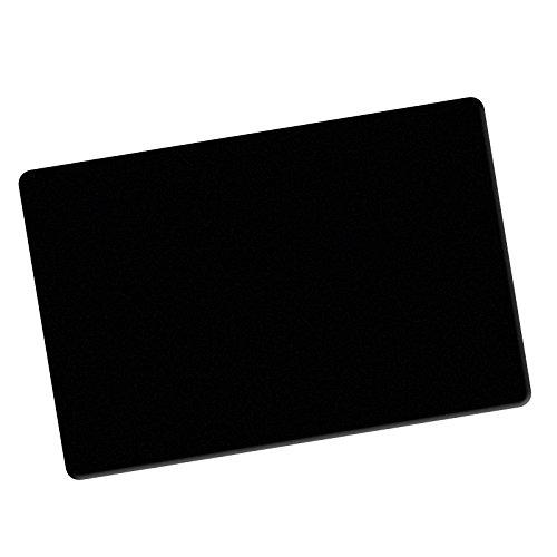 Close-Up Pad SCHWARZ, Rutschfeste Unterlegmatte für Zaubertricks, Karten-Unterlage Tisch,...