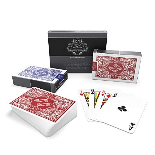 Bullets Playing Cards wasserfeste Plastik Spielkarten - Bridge Size - Standard Index - Pokerkarten...