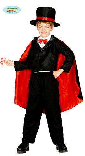 Generique - Zauberer-Kostüm für Kinder 122/134 (7-9 Jahre)