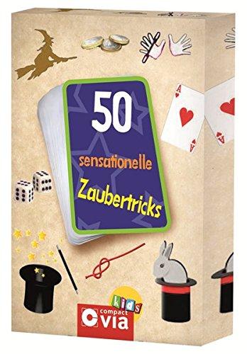 50 sensationelle Zaubertricks (Karten für Kinder)