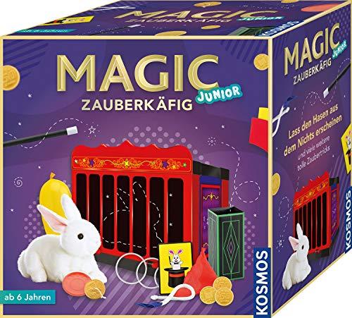 Kosmos MAGIC Zauberkäfig, Lass den Hasen aus dem Nichts erscheinen, 16 Zauber-Tricks, magische...