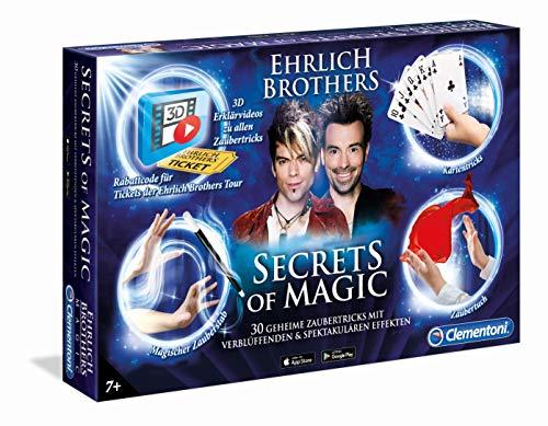 Clementoni 59048 Ehrlich Brothers Secrets of Magic, Zauberkasten für Kinder ab 7 Jahren, magisches...
