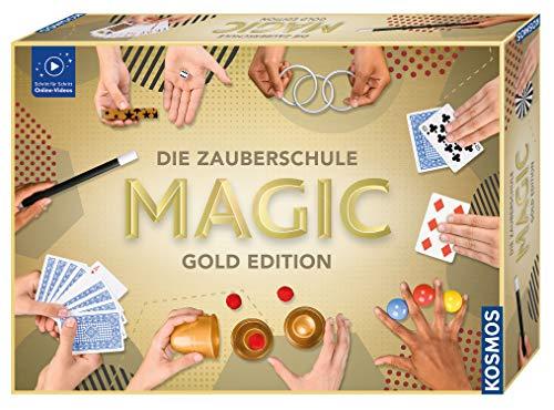 Kosmos Zauberschule Magic Gold Edition, 150 Zauber-Tricks von leicht bis anspruchsvoll, viele magische...