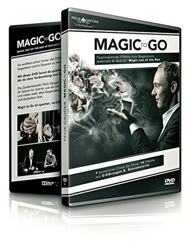 Magic to Go – Out of the box Lehr-DVD Zauberkasten-Magie, Zaubershow geheime magische Zauber-Tricks...