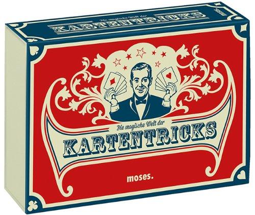 moses. 28036 Die magische Welt der Kartentricks | 33 Zaubertricks mit Karten | Inkl. 32 Blatt...