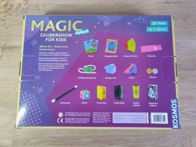 Kosmos Magic Junior Rückseite