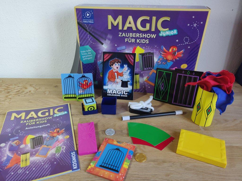 """Der """"Kosmos Magic Junior"""" ist ein beliebter Zauberkasten für Kinder ab 5 Jahren."""