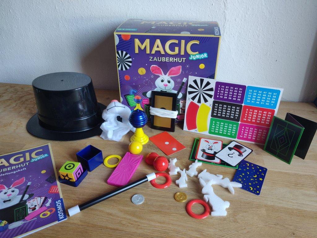 """Der Kosmos """"Magic Zauberhut"""" ist einer der beliebtesten Zauberkästen für Kinder"""
