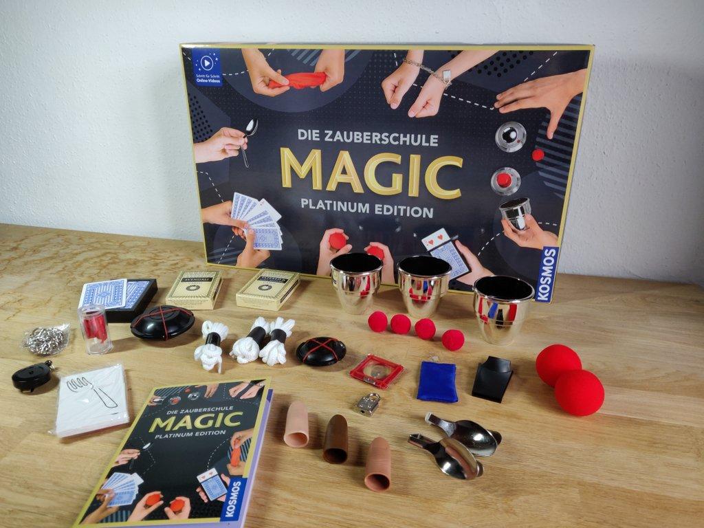 Der beste Zauberkasten für Kinder ab 8 Jahren: Kosmos Magic Platinum Edition