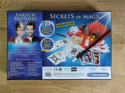 Secrets of Magic Rückseite