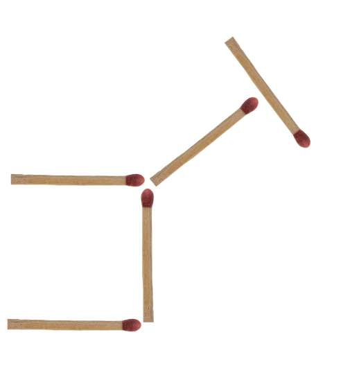 Streichholzrätsel Esel Lösung 1