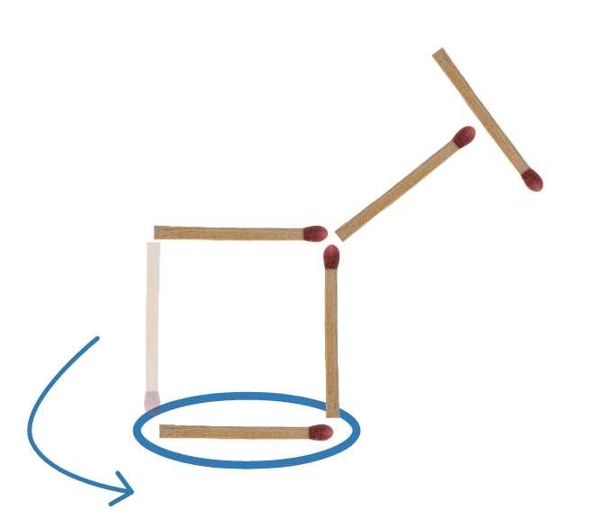 Streichholzrätsel Esel Lösung 2