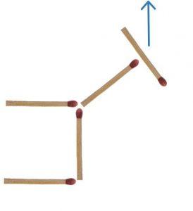 Streichholzrätsel Esel Lösung 4