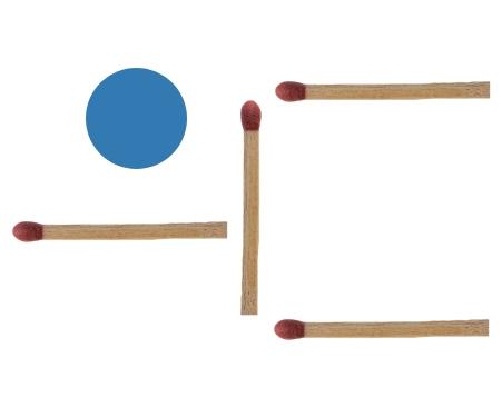 Streichholzrätsel Schaufel Lösung 2
