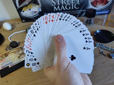 Svengali Kartendeck Fächer 1